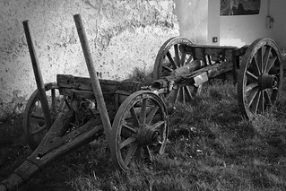 old farm - abandoned plough