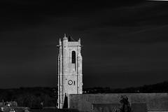Comme un phare (Meculda) Tags: eglise france monochrome monochrom tour clocher horloge hdr extérieur noiretblanc