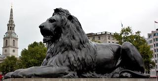 Nelson Column, Lion