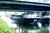 Slide 087-25 (Steve Guess) Tags: flanders flandre flandern фландрия belgium belgique belgien belgië бельгия canal barge bridge