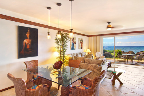 Oceanfront Resort Condo - Dining Area