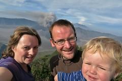 IMG_4045 (JoStof) Tags: indonesia java selfie bromo volcano eruption ash smoke tengger caldera jawatimur indonesië idn