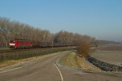 DBC 189 074 + staaltrein (Durk Houtsma.) Tags: dbschenker dbcargo staaltrein db dbs 189074 deutschebahn willemsdorp dbc br189 siemens dordrecht zuidholland nederland nl