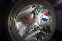 In the airlock (europeanspaceagency) Tags: thomaspesquet spacewalk iss nasa esa space eva proxima astronauts