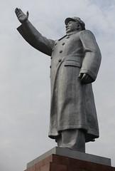 Aluminum-alloy (MFinChina) Tags: china hunan changsha mao maozedong charimanmao communism communistparty 中国 长沙 湖南 毛 毛泽东 statue sculpture