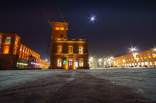 Winter in Lodz