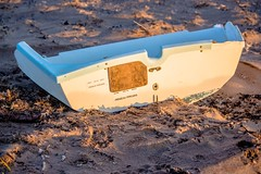 Seen better days, this boat (allybeag) Tags: beckfoot beach silloth solway coast seaside boat broken