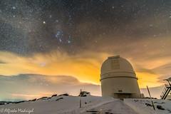 Telescope 3.5m in Calar Alto (Alfredo Madrigal) Tags: telescope astronomy astrofotografía astrophotography astronomía astrofoto astrofotografia astronomia calar alto almería night sky orion