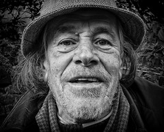 Young at heart (V Photography and Art) Tags: man face fujixt1 14mm wideangle