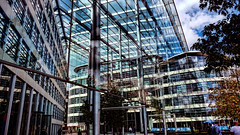 Tower Place London - Foster and Partners (Miradortigre) Tags: london building arquitectura architecture norman foster glass steel vidrio acero transparencias londres inglaterra england