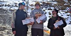 1st Thomas Wolf, 2nd Cade Hoplet, 3rd Tim Herbert