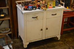 "Porcelain Top Metal Cabinet, Old • <a style=""font-size:0.8em;"" href=""http://www.flickr.com/photos/51721355@N02/18438964776/"" target=""_blank"">View on Flickr</a>"