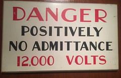 """""""Positively"""" haha very funny with your electricity jokes (turini2) Tags: sydney australia canberra"""