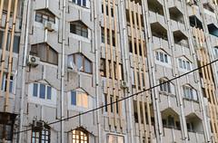 Apartment building (Francisco Anzola) Tags: city architecture communist communism socialist uzbekistan centralasia tashkent