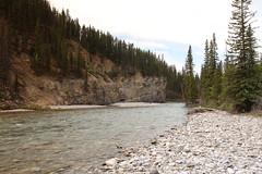 Exploring the Elbow river Kananaskis Alberta Canada 2015