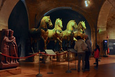 Horses of Saint Mark, Venice (faungg's photos) Tags: travel venice horses italy art church ancient europe historical inside 旅游 exhibits 欧洲 意大利 威尼斯 saintmark travelon5photosaday 圣马尔谷之马