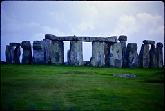 Stonehenge in England (cinder85212) Tags: england film stonehenge scanned