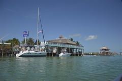 Marathon: Burdines Waterfront ~ Chiki Tiki Bar and Grill (costagar51) Tags: marathon florida floridakeys america mare anticando contactgroups panoramafotografico theoriginalgoldseal thebestofmimamorsgroups