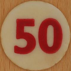Bingo Number 50 (Leo Reynolds) Tags: xleol30x squaredcircle number numberbingo xsquarex bingo lotto loto houseyhousey housey housie housiehousie numberset 50 fifty sqset120 50s canon eos 40d xx2015xx xxtensxx sqset