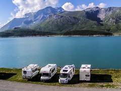 "...albergo ""Belvedere""... (rovampera) Tags: panorama lago natura cielo camper montagna viaggiare"