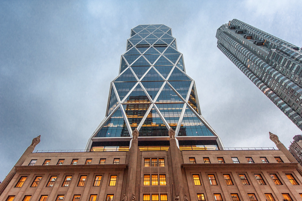 Hearst Tower in downtown Manhattan.