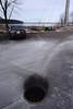 DSC03314 (David H. Thompson) Tags: madisonwi overuseofdeicingsalt deicer nacl sodium chloride stormwater funoff parkinglot lakemonona