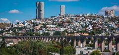 2016 - Mexico - Querétaro - Aqueducto 3 of 4 (Ted's photos - For Me & You) Tags: 2016 cropped mexico queretaro santiagodequeretaro tedmcgrath tedsphotos tedsphotosmexico vignetting nikon nikonfx nikond750 aqueduct aqueducto queretaroaqueducto queretaroaqueduct cityview unesco unescoworldheritagesite