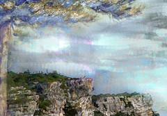 Riscos (seguicollar) Tags: paisaje risco árbol ramas tronco verde cielo imagencreativa photomanipulación virginiaseguí artedigital arte art artecreativo
