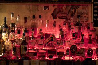 Liquor Bottles at Jackpot, Washington DC