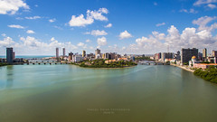O RIO CAPIBARIBE E O RECIFE 09-12-16. (Thales Paiva) Tags: rio capibaribe drone091216001tpok recife tursmo turismo pernambuco melhor catamaran drone aérea projeto aurora