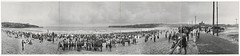 Bondi Beach, Sydney, 1922 / photographed by R. P. Moore (State Library of New South Wales collection) Tags: statelibraryofnewsouthwales panorama bondi beach