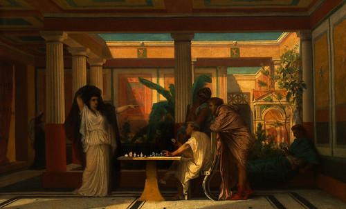 "Petteia - Ludus Latrunculorum  / Iconografía de las civilizaciones helenolatinas • <a style=""font-size:0.8em;"" href=""http://www.flickr.com/photos/30735181@N00/31710156023/"" target=""_blank"">View on Flickr</a>"