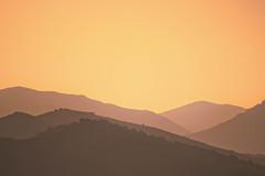 Sun's kiss to the night (Barrie T) Tags: corsica mountains sunset dusk evening light vivario