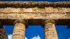 Segesta-7 (aramshelton) Tags: sicily greek greektemple ancient goldenhour