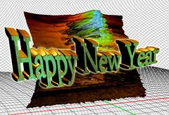 Happy New Year (Jocarlo) Tags: art afotando adilmehmood arttate adobe crazygeniuses crazygenius editing flickrclickx flickraward flickrstruereflection1 flickrphotowalk genius photowalk photowalkmelilla sharingart jocarlo clickofart luz melilla montajesfotográficos ngc nationalgeographic pwmelilla soulocreativity1