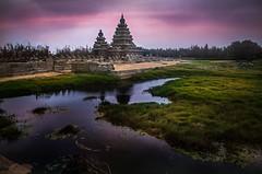 Shore Temple Mahabalipuram (Swasti Verma) Tags: mahabalipuram pondicherry beach india travel vacation heritage heritageindia architecture incredibleindia sunrise unesco stonecarving carving