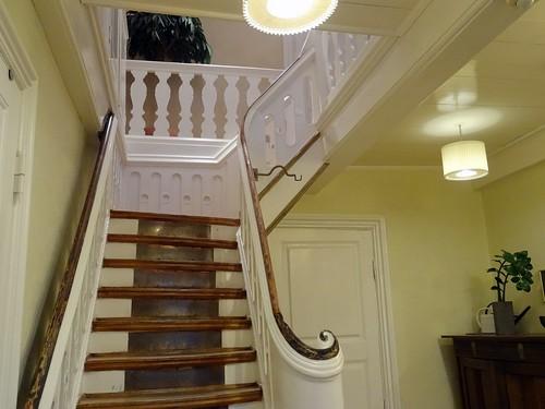 Benniksgaard Hotel - Trappen op til vores suite