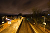 Busby Station At Night (Click And Pray) Tags: managedbyclickandpraysflickrmanagr busby platform railwaystation night longexposure busbyplatformrailwaystationnightlongexposurescotlandgbr