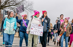 """HillelSteinbergPhoto-93.jpg (hillels) Tags: woman march protest feminist feminism washington dc trump president gay lesbian rally rallies freedom grassroots """"linda sarsour"""" """"gloria steinem"""" """"michael jones"""" democracy american healthcare education pay"""" movement resistance van halen womens social justice equal rights pussy hat michael moore"""