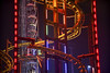thrills and chills (cherryspicks (on/off)) Tags: night ride amusementpark color bright vienna prater rollercoaster