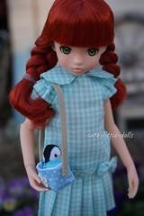 I love you💕 ;-) (cute-little-dolls) Tags: ruruko rurukodoll doll miniature penguin kawaii caring love toy friends