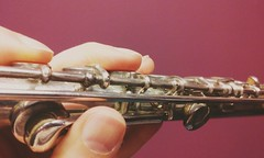 Gratefulness project - Fearless (amykoren) Tags: flute music instrument grateful fearless