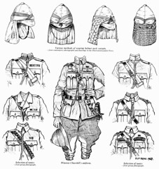 Uniforms 21st Lancers at Omdurman (roydutton) Tags: dervish omdurman 21st lancers weapons forgotten heroes charge roy dutton uniform