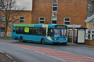 Arriva North East 4519 W295PPT - Cramlington