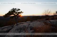 Burst (ficktionphotography) Tags: sky winter tree sun sunset sunburst rock mountain bearmountain newyork explore nature