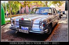 # Mercedes 280 S W108 (1965-1972) (A.M.G.1969) Tags: amg amg1969 aplicacióndelacámara mercedesbenz 4ruedas car clasicos coches clasicoaleman w108