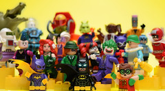The Lego Batman Movie (Andrew Cookston) Tags: lego dc comics batman movie brucewayne thelegobatmanmovie batgirl robin joker harleyquinn twoface mrfreeze killercroc gothamcity wb warnerbrothers warner bros 2017 photoshop minifig stilllife toy nikon macro photography andrewcookston