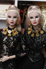 Mogul sisters (Isabelle from Paris) Tags: mogul sisters agnes giselle giftset fashion royalty isabelleparisjewels