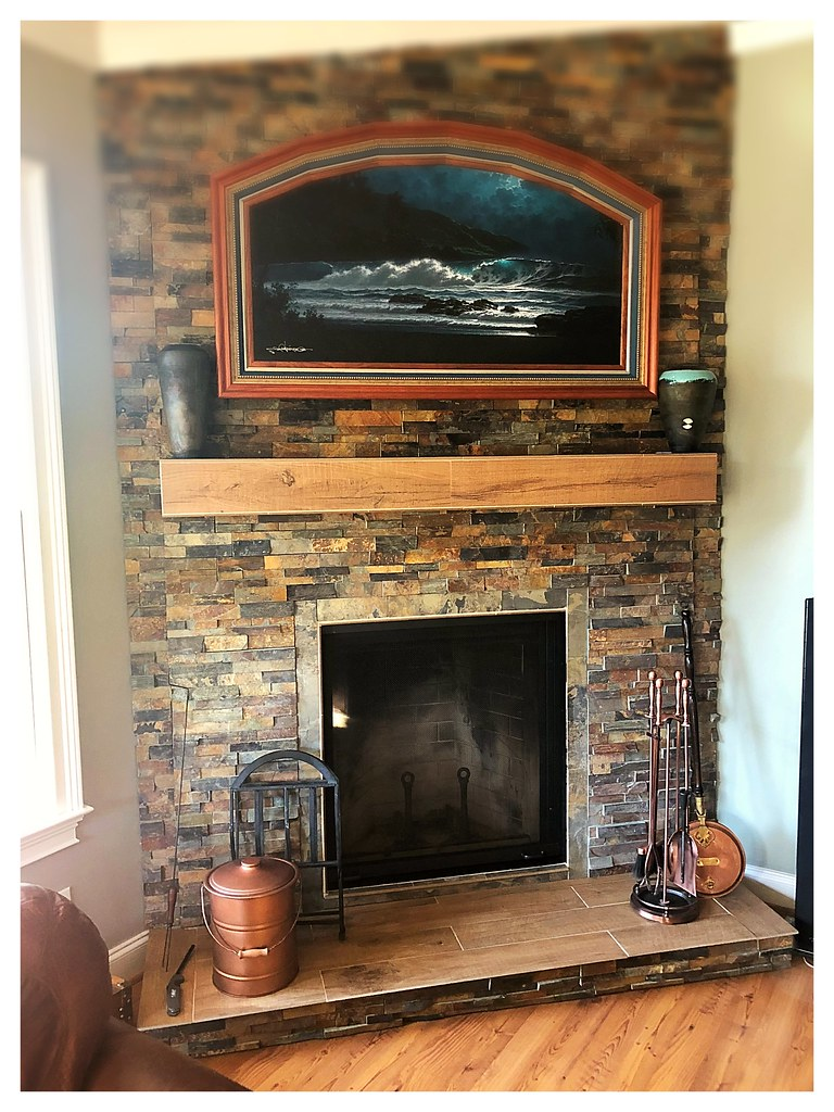 Renessaince Rumford 1000 Wood Burning Fireplace. Signal Mtn. Tn.
