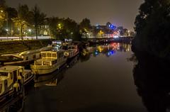 Canal (Matt H. Imaging) Tags: reflection netherlands night canal sony nederland groningen slt a55 sonyalpha sal1855 slta55v ©matthimaging